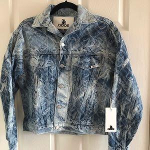 Jordache cropped jean jacket